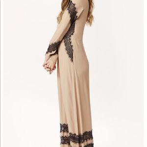 For Love and Lemons Goddess Maxi Dress